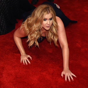 Amy Schumer Falling on Time 100 Red Carpet | Kim Kardashian