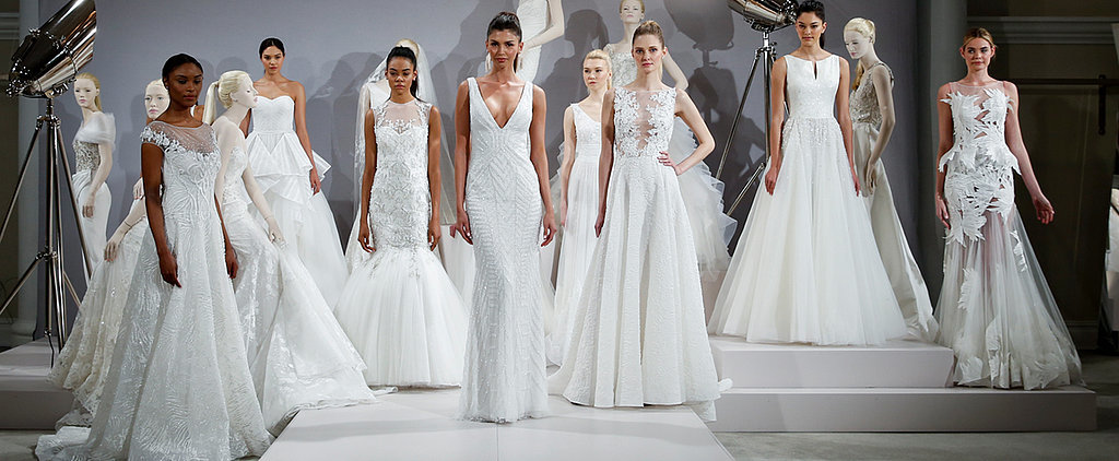 80 Must-See Wedding Dresses From Bridal Fashion Week Spring 2016