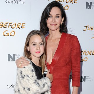 Courteney Cox's Daughter Coco at Just Before I Go Premiere
