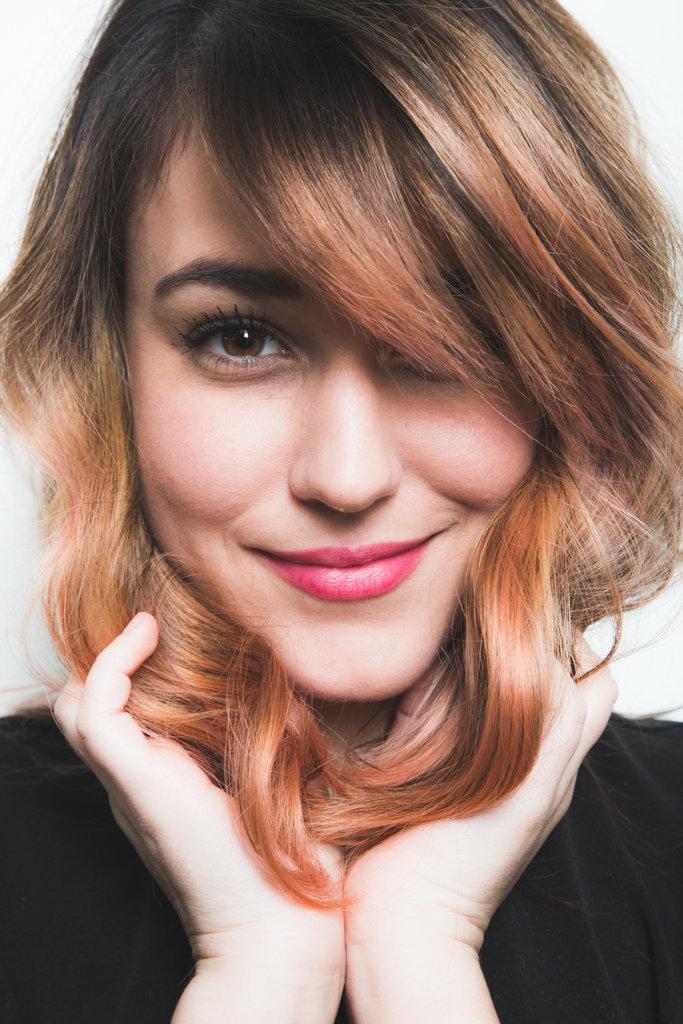 how to color dark hair pastel popsugar beauty
