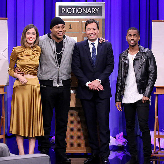 Rose Byrne and Big Sean Play Pictionary on The Tonight Show