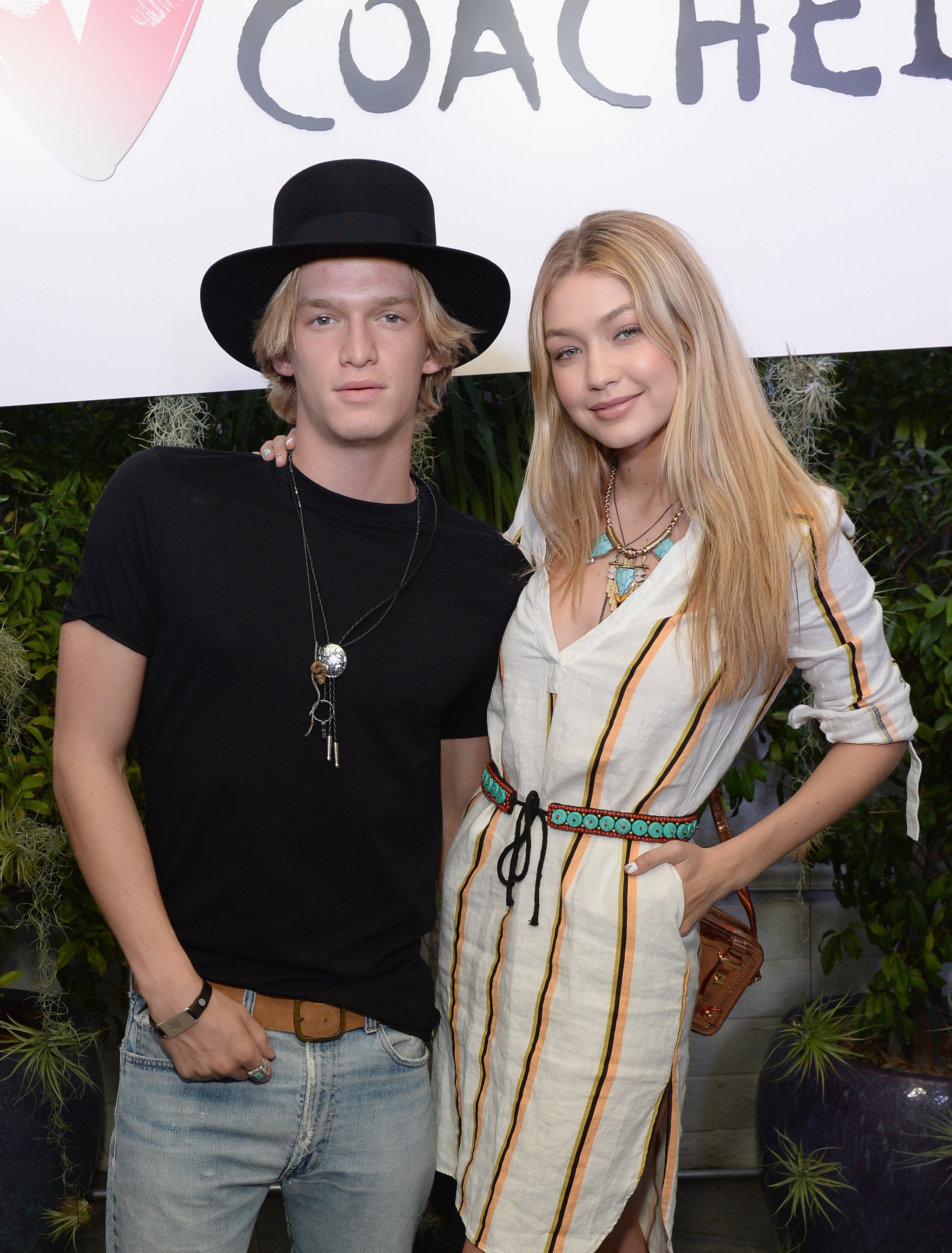 gigi hadid tweets about birthday gift from cody simpson