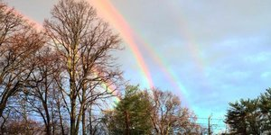 Super-Rare Quadruple Rainbow Captured In Stunning Photo In New York