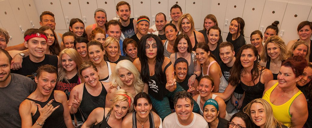 Only Lady Gaga Could Dress Like This For SoulCycle