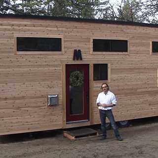 Video Tour of Couple's Tiny Home on Wheels