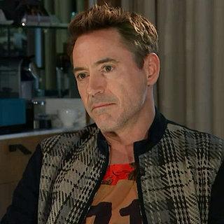 Robert Downey Jr. bricht ein Interview ab