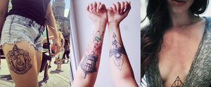 56 Harry Potter Tattoos That Are Badass AND Beautiful