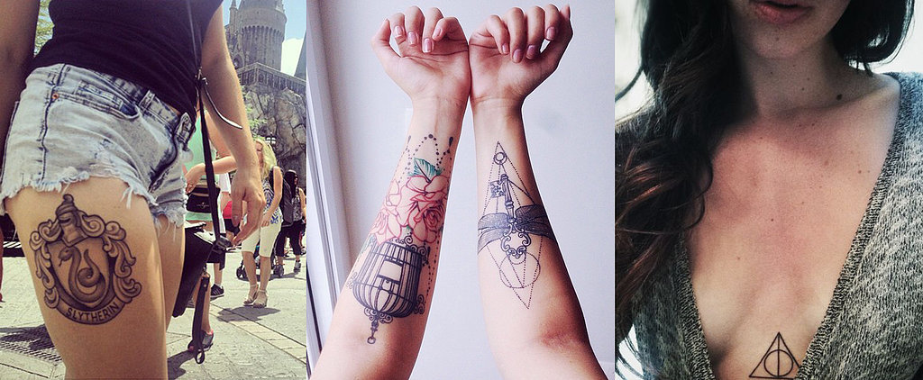These Harry Potter Tattoos Would Make J.K. Rowling Proud