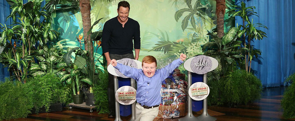 Chris Pratt and the Apparently Kid Make the Most Hilarious, Perfect Pair