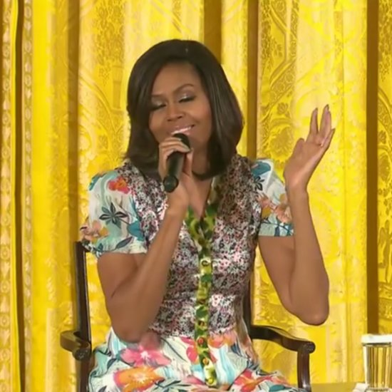 Little Girl Asks Michelle Obama How Old She Is