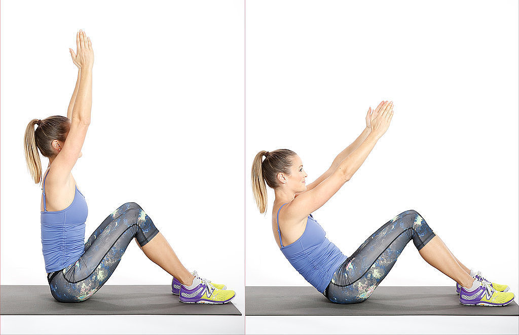Pilates Roll-Down