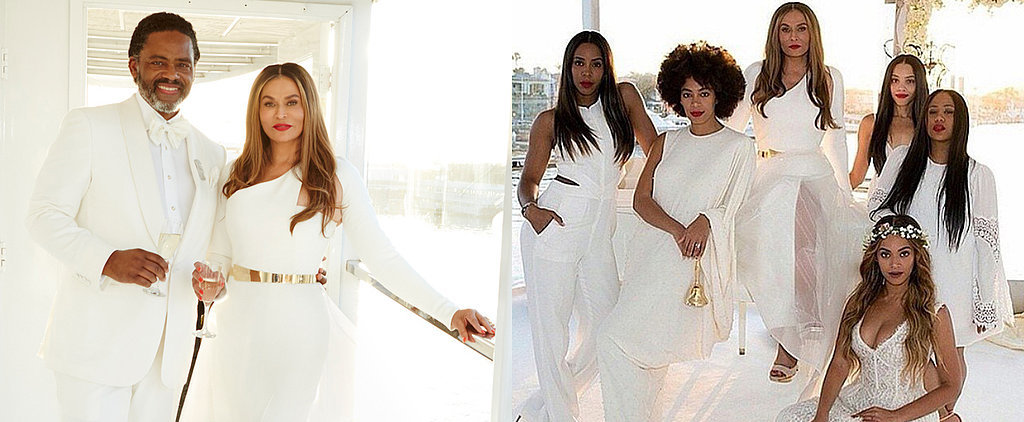 Beyoncé and Solange Support Mom Tina Knowles at Her Extravagant Wedding