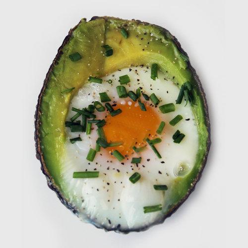 Baked Eggs in Avocado