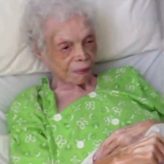 102-Year-Old Woman Watches Herself Dance