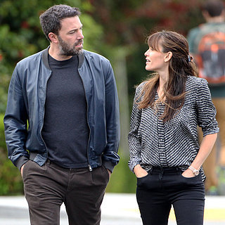 Ben Affleck and Jennifer Garner Walking Togethe