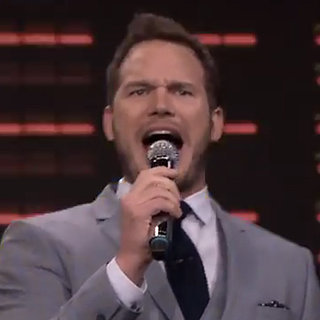"Chris Pratt Puts His Own Spin on ""Uptown Funk"" — and It's Priceless!"