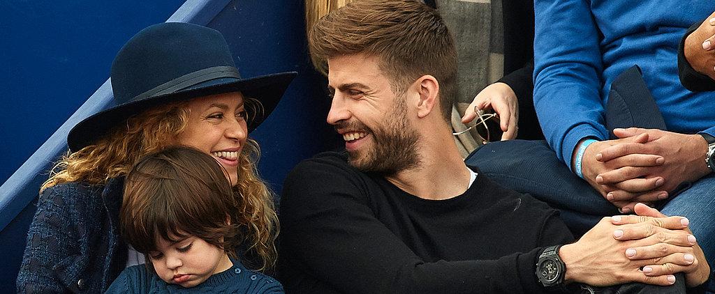 Shakira and Gerard Piqué Sneak Sweet Kisses — See Their Fun Family Day!