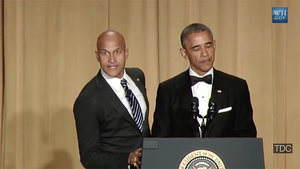 'Luther the Anger Translator' Assists Obama at White House Correspondents' Dinner