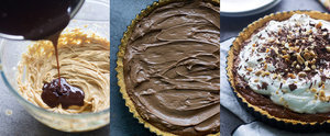 Indulge In This Salty-Sweet Peanut Butter French Silk Tart