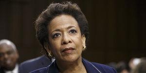 Loretta Lynch Sworn In As U.S. Attorney General