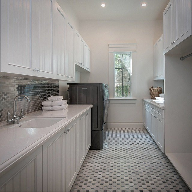 install a beautiful backsplash 18 ways to make your laundry room the