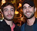 Daily Drool: Ed Westwick & Chace Crawford's Bromantic Night Out