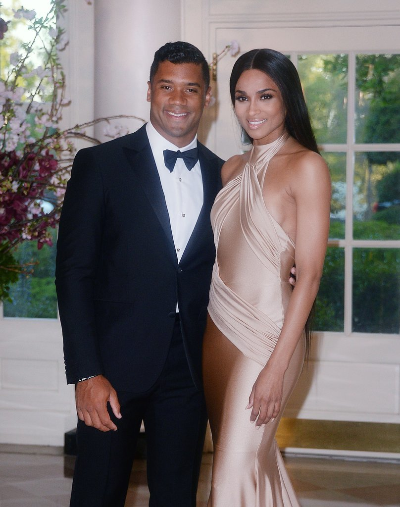 Ciara and Russell Wilson Take Their New, Sexy Love to the White House