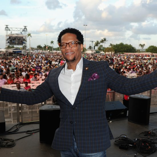 D.L. Hughley Breaks Down Talking About Son With Asperger's