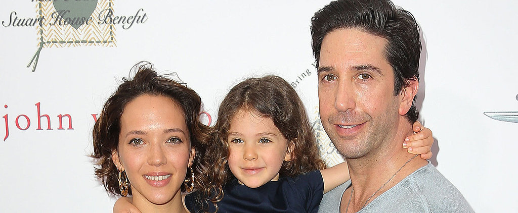 David Schwimmer Shows Off His Adorable Daughter, Cleo, in a Rare Red Carpet Appearance