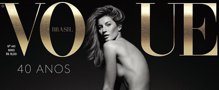 Gisele Celebrates Her 20-Year Career by Baring It All For Vogue Brazil
