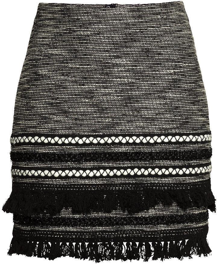 H&M Skirt With Fringe  ($35)