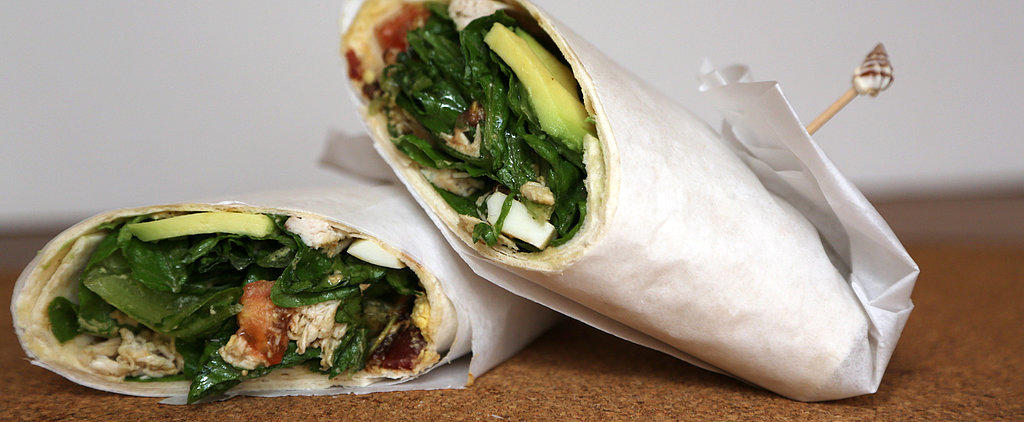 At Last! A Salad Wrap You'll Love Eating