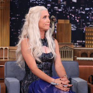 Video of Kristen Wiig as Daenerys on Jimmy Fallon