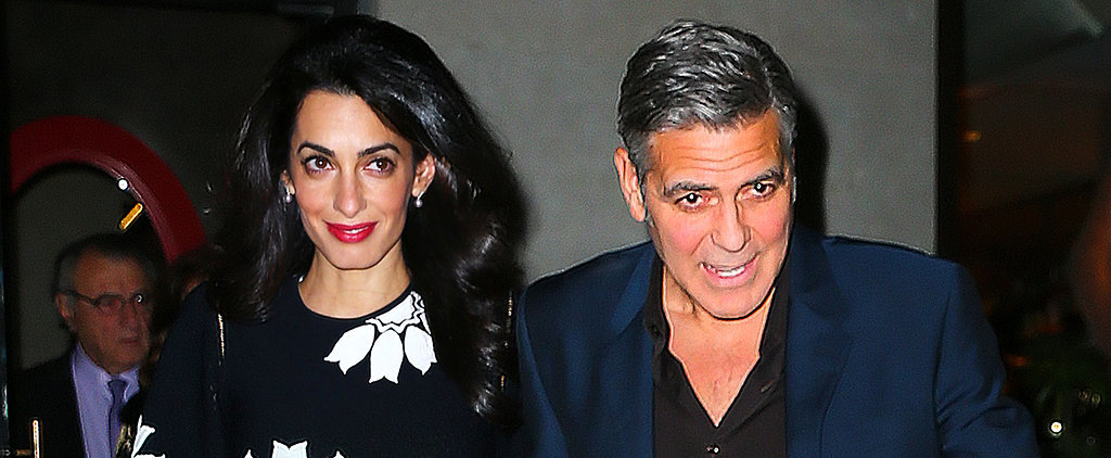 The Clooneys Have the Cutest Night Out With Amal's Family