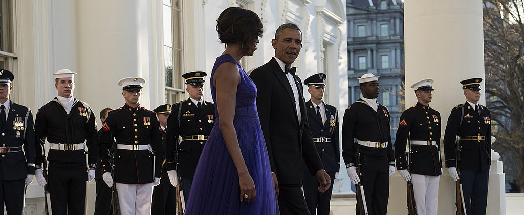 All Hail Michelle Obama's Stunning State Dinner Gown