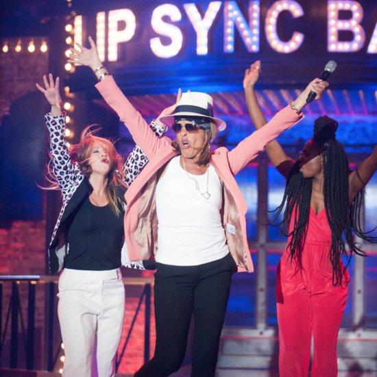 """Hoda Kotb Sings """"Uptown Funk"""" on Lip Sync Battle"""