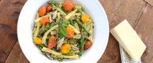 A Colorful Springtime Pasta Recipe
