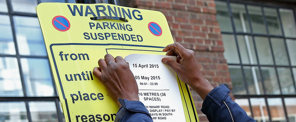 Notices Outside of Kate's Hospital Have Been Updated to Restrict Parking Until May 5