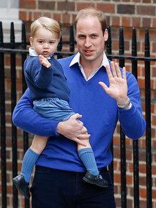 The Royal Wave! Prince George Reports for Big Brother Duty as He Arrives to Meet His New Baby Sister