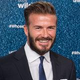 B-Day Boy David Beckham