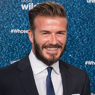 B-Day Boy David Beckham Congratulates the Royals on Their New Princess