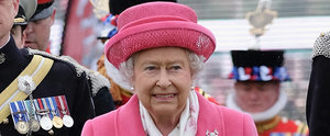 Queen Elizabeth II Wears Pink — and a Big Smile — After the Princess Is Born