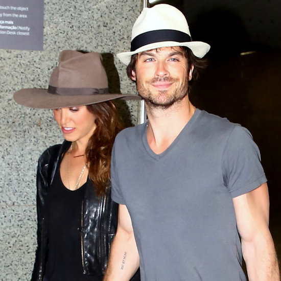 Ian Somerhalder and Nikki Reed's Wedding Rings   Pictures