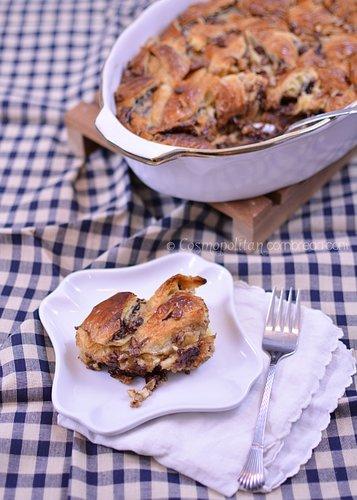 Nutella Bread Pudding from Cosmopolitan Cornbread