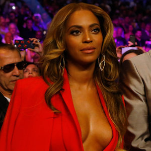 Celebrities at Floyd Mayweather and Manny Pacquiao Fight