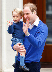 Prince George's All-Blue Outfit to Meet Baby Princess: Get the Style Breakdown!
