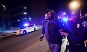 Freddie Gray Protests: Legal Volunteers And Medical Staff Arrested For Defying Curfew