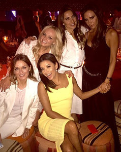 Spice Girls Reunite for David Beckham's 40th Birthday Party: Photos