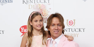 Dannielynn Birkhead Looked Precious As Usual At The 2015 Kentucky Derby