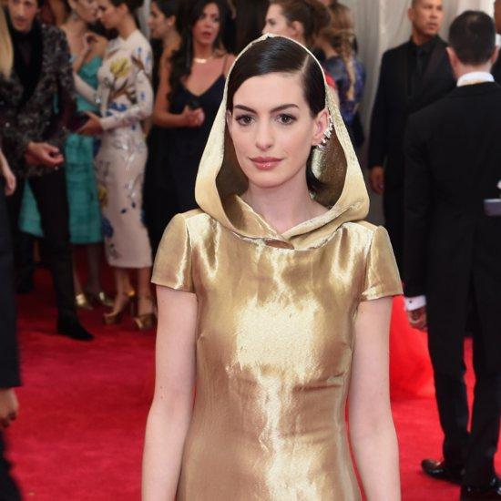 Anne Hathaway at Met Gala 2015